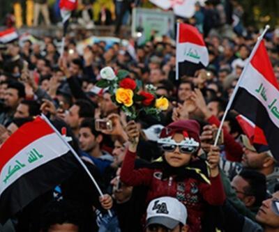 """Irak'ta sevinç gösterileri düzenlendi! """"Güle güle Adil"""""""