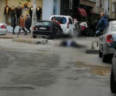 Sokak ortasında eniştesini öldürüp cesedinin başında bekledi