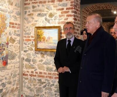 Serginin açılışını Cumhurbaşkanı Erdoğan yaptı