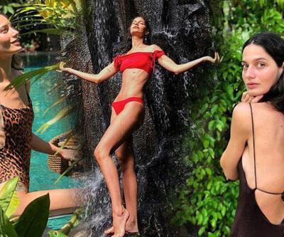 Gülcan Arslan'ın Bali tatili