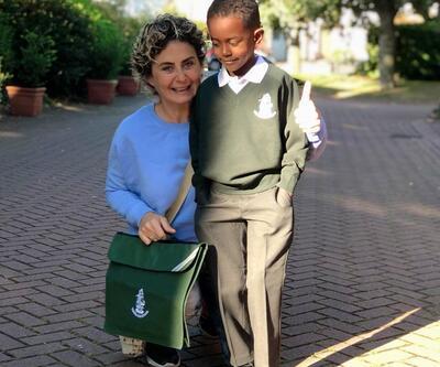 Oğlu ile Londra'ya yerleşen Esra Akkaya'dan haber var!