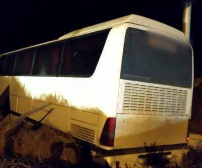 Bursaspor taraftarlarını taşıyan otobüs ile tır çarpıştı