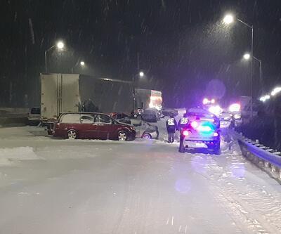 Kanada'da 40 aracın karıştığı feci kaza: 1 ölü, 16 yaralı