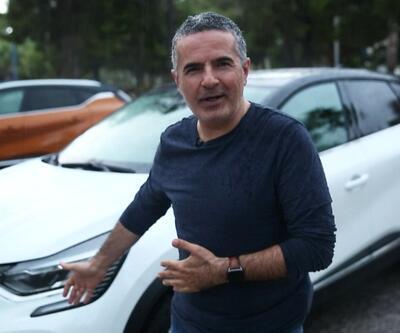 Hakan Çelik, Renault Captur ile test sürüşü yaptı