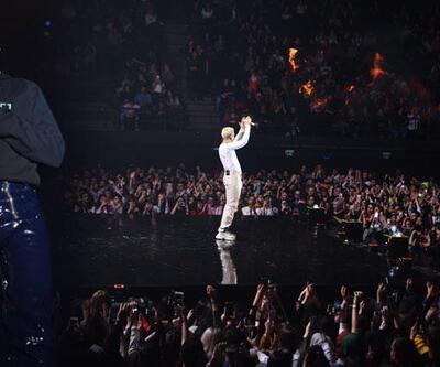 Edis 5 bin kişilik konserle veda etti