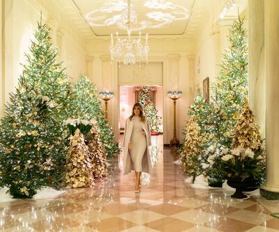 Geçen yıl 'iç karartıcı' bulunmuştu: Melania Trump bu kez şaşırttı
