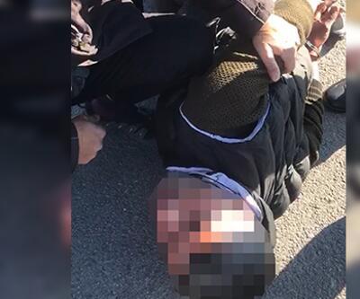 Kendisini polis olarak tanıttığı kadını dolandırırken suçüstü yakalandı