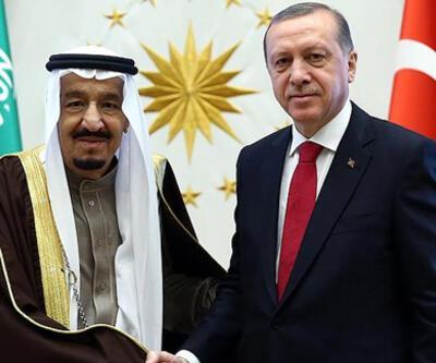 Cumhurbaşkanı Erdoğan'dan Kral Selman'a taziye telefonu