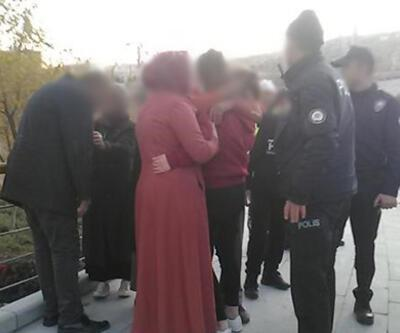 Genç kızı kaçırıp yol kenarına attılar