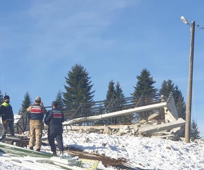 Trabzon'daki kaçak yapılar yıkıldı