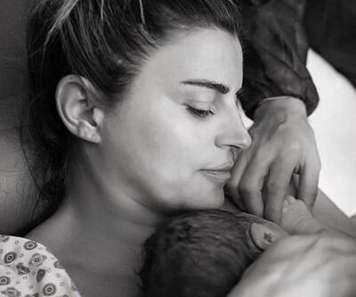 Ece Vahapoğlu doğumdan sonra ilk fotoğrafını paylaştı