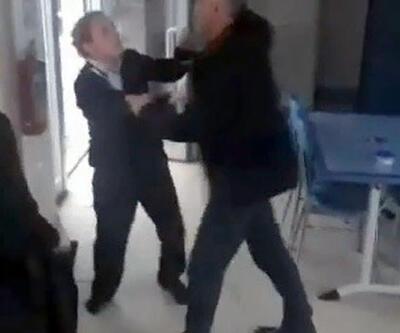 Güvenlik görevlisi kadınlara saldırdı