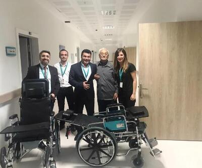 Burhaniye Devlet Hastanesi'ne hayırsever işadamından anlamlı bağış