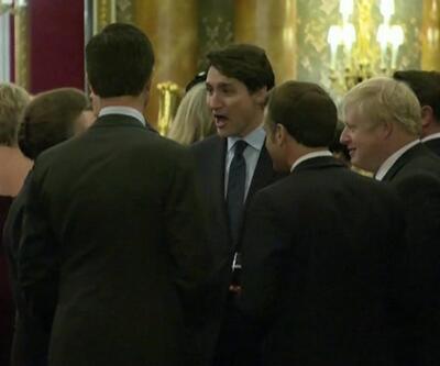 Liderlerin Trump'a gülmesi