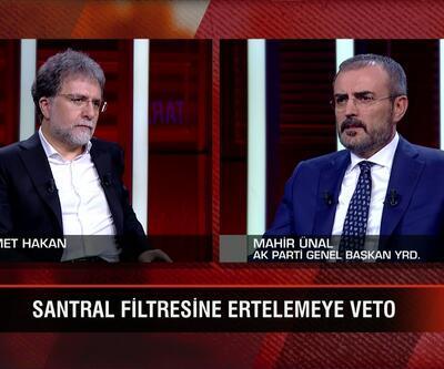 AK Parti Genel Başkan Yardımcısı Mahir Ünal, Ahmet Hakan'ın sorularını yanıtladı