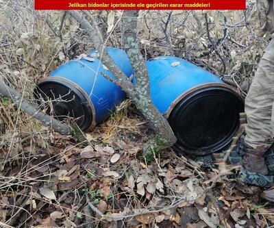Diyarbakır'da 1 ton 36 kilogram esrar ele geçirildi