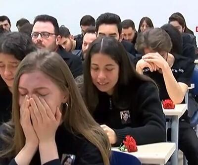 Ceren Özdemir'in okulunda tören düzenlendi: Arkadaşları gözyaşlarını tutamadı
