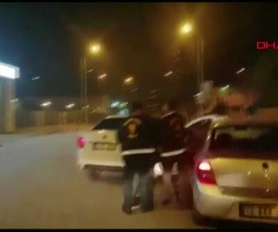 Polis kovalamacası kamerada