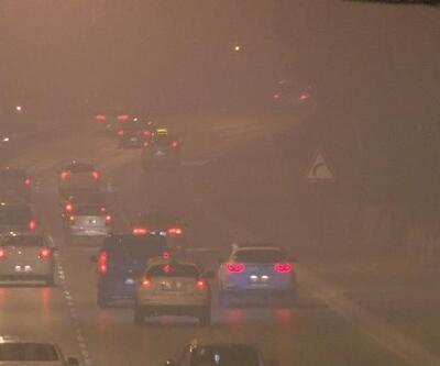 İzmir'de sis ve soba dumanı hayatı olumsuz etkiledi