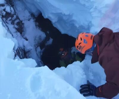 Kayıp dağcılar için mağara ve kuyular aranıyor