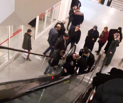 Merdivenden yuvarlanan anne- kız yaralandı