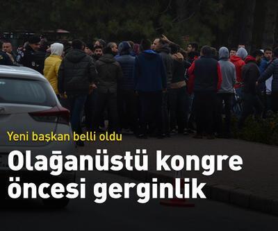 Kayserispor'da olağanüstü kongre öncesi gerginlik