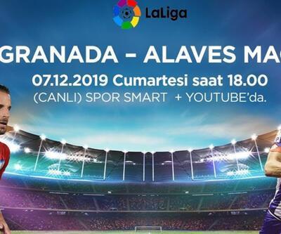 Granada-Alaves maçı CNNTURK.COM'dan şifresiz canlı izle