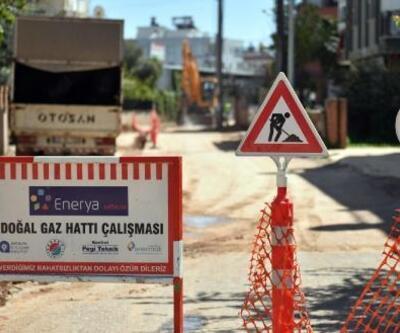 Kepez'den 3 mahalleye doğal gaz müjdesi