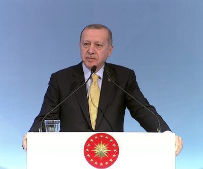 Erdoğan, İslam İşbirliği Üst Düzey Kamu ve Özel Sektör Yatırım Konferansında konuştu