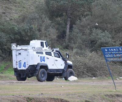 Define avcılarının hedefi olan tarihi Güzelce Kemerine polis önlemi