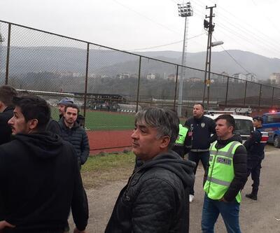 Karabük'te amatör maçta kavga: 1 yaralı