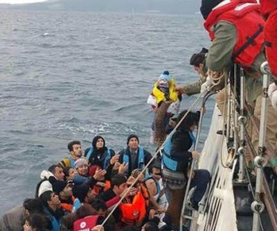 İzmir'de 216 düzensiz göçmen yakalandı