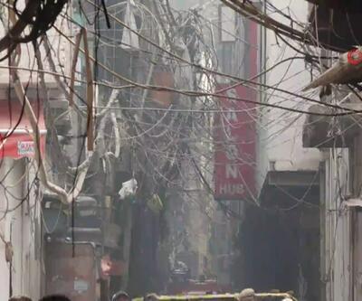 Hindistan'da yangın can yaktı