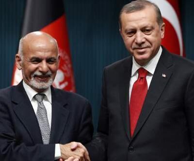 Cumhurbaşkanı Erdoğan Eşref Gani le görüşüyor
