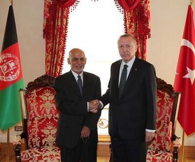 Cumhurbaşkanı Erdoğan, Eşref Gani ile görüştü