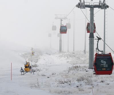 Erciyes kayak sezonu için hazır