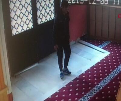 Camideki hırsızlık kamerada