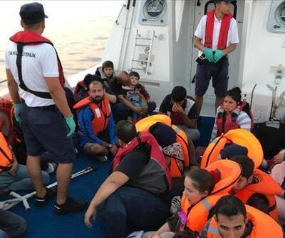 39 düzensiz göçmen yakalandı