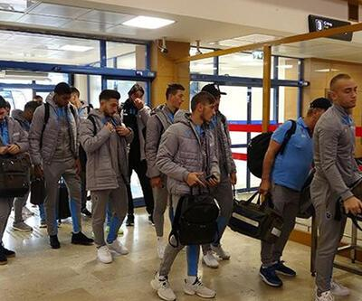 Trabzonspor 8 eksikle Basel'e gitti