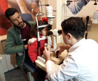 MSB, Suriye'de göz tarama hizmetine başladı