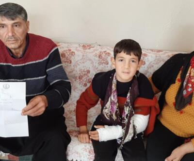 Krem verilerek evine gönderilen çocuğun kolunun kırık olduğu ortaya çıktı