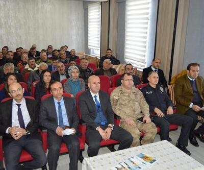 Gölova'da muhtarlar toplantısı yapıldı