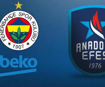 Fenerbahçe Anadolu Efes basketbol maçı hangi kanalda? Mücadele şifresiz!