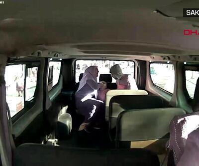 Fenalaşan çocuğu dolmuş şoförü hastaneye yetiştirdi