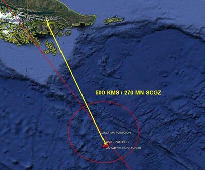 Şili'de kaybolan askeri uçağın parçaları bulundu
