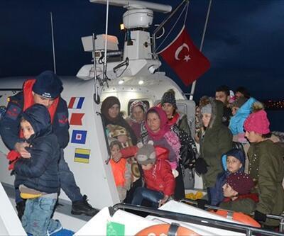 Balıkesir'de 108 düzensiz göçmen yakalandı