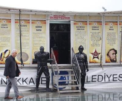 Çanakkale ruhu Antalya'da