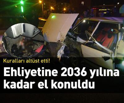 Ehliyetine 2036 yılına kadar el konuldu