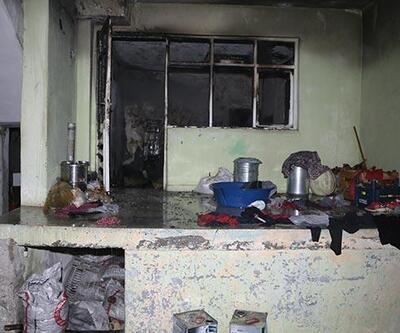 Kahramanmaraş'ta yangın! 3'ü çocuk 7 kişi hastaneye kaldırıldı