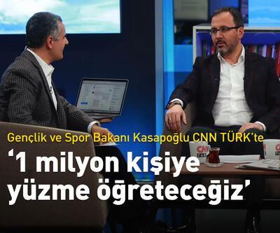 Gençlik ve Spor Bakanı Kasapoğlu CNN Türk'te